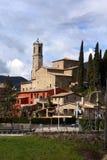 Χωριό Mieres, Garrotxa, Girona Στοκ Εικόνες