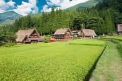 Χωριό Ogimachi στοκ εικόνες