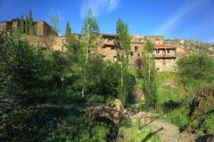 Χωριό Patones de Arriba Στοκ φωτογραφία με δικαίωμα ελεύθερης χρήσης