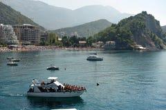 Χωριό Petrovac, Μαυροβούνιο, Ευρώπη στοκ φωτογραφίες