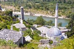 Χωριό Pocitelj - Βοσνία-Ερζεγοβίνη. Στοκ φωτογραφίες με δικαίωμα ελεύθερης χρήσης