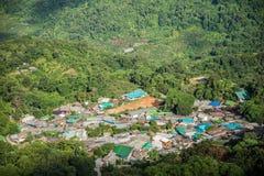 Χωριό Pui Hmong Doi στοκ φωτογραφία