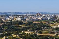 Χωριό Qrendi, Μάλτα Στοκ φωτογραφία με δικαίωμα ελεύθερης χρήσης