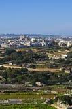 Χωριό Qrendi, Μάλτα Στοκ Φωτογραφίες