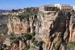 Χωριό Ronda, Ισπανία Στοκ φωτογραφία με δικαίωμα ελεύθερης χρήσης
