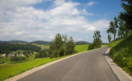 Χωριό Rovte, Σλοβενία στοκ εικόνες