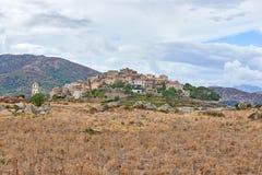 Χωριό Sant Antonino, Κορσική Στοκ φωτογραφία με δικαίωμα ελεύθερης χρήσης