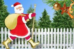 χωριό santa Claus ελεύθερη απεικόνιση δικαιώματος