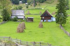 Χωριό Scarisoara στη Ρουμανία στοκ φωτογραφίες με δικαίωμα ελεύθερης χρήσης