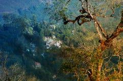 Χωριό Silerygaon, Sikkim Στοκ Φωτογραφίες
