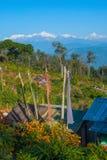Χωριό Silerygaon, Sikkim Στοκ Εικόνες