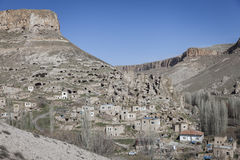 Χωριό Soganli σε Cappadocia Στοκ Φωτογραφίες