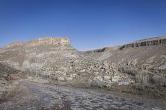Χωριό Soganli σε Cappadocia Στοκ φωτογραφία με δικαίωμα ελεύθερης χρήσης