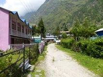 Χωριό Tal στο Νεπάλ Στοκ Φωτογραφίες