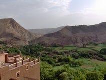 Χωριό Tighza, Μαρόκο Στοκ Φωτογραφία