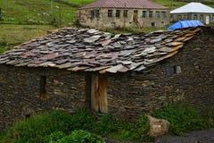 Χωριό Ushguli σε Svaneti, Γεωργία στοκ φωτογραφία με δικαίωμα ελεύθερης χρήσης