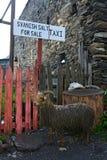 Χωριό Ushguli σε Svaneti, Γεωργία στοκ εικόνα με δικαίωμα ελεύθερης χρήσης