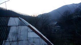 Χωριό Vahagnadzor στη Lori, Αρμενία Στοκ Φωτογραφίες