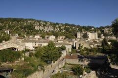 Χωριό Vogà ¼ é, Ροδανός-Alpes, Ardeche, Γαλλία, Στοκ εικόνα με δικαίωμα ελεύθερης χρήσης