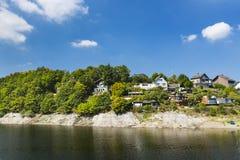 Χωριό Woffelsbach, Γερμανία Rursee Στοκ φωτογραφία με δικαίωμα ελεύθερης χρήσης