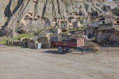 Χωριό Yaprakhisar σε Cappadocia Στοκ Εικόνα