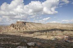 Χωριό Yaprakhisar σε Cappadocia Στοκ φωτογραφία με δικαίωμα ελεύθερης χρήσης
