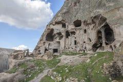 Χωριό Yaprakhisar σε Cappadocia Στοκ εικόνα με δικαίωμα ελεύθερης χρήσης