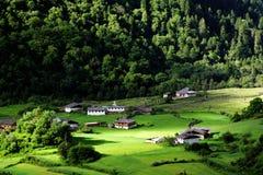 χωριό yubeng Στοκ Φωτογραφία