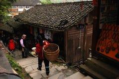 Χωριό Zhuang Στοκ εικόνες με δικαίωμα ελεύθερης χρήσης