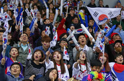 Χόκεϋ πάγου 2017 παγκόσμιο πρωτάθλημα Div 1A στο Κίεβο, Ουκρανία Στοκ εικόνα με δικαίωμα ελεύθερης χρήσης