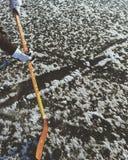 Χόκεϋ 1 πάγου στοκ φωτογραφίες