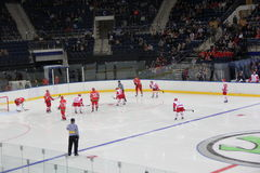 Χόκεϋ πάγου Στοκ εικόνες με δικαίωμα ελεύθερης χρήσης