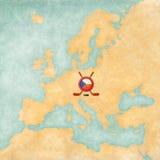 Χόκεϋ στη Δημοκρατία της Τσεχίας Στοκ φωτογραφίες με δικαίωμα ελεύθερης χρήσης