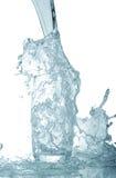 Χύνοντας νερό Στοκ Φωτογραφία