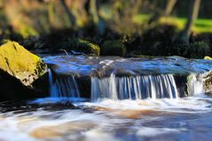 Χύνοντας νερό Στοκ Φωτογραφίες