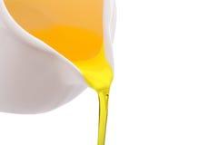 Χύνοντας πετρέλαιο Στοκ Εικόνα