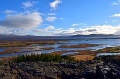 Χύσιμο νερού στην Ισλανδία στοκ φωτογραφία με δικαίωμα ελεύθερης χρήσης