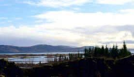 Χύσιμο νερού στην Ισλανδία στοκ φωτογραφίες με δικαίωμα ελεύθερης χρήσης