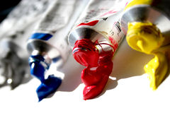 χύσιμο χρώματος στοκ φωτογραφία με δικαίωμα ελεύθερης χρήσης