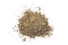 Χώμα ή ρύπος που απομονώνεται στοκ εικόνες με δικαίωμα ελεύθερης χρήσης