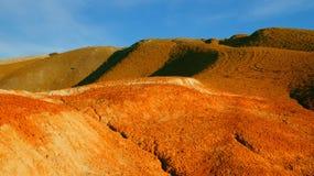 Χώμα χρώματος των καταθέσεων υδραργύρου Στοκ Εικόνα