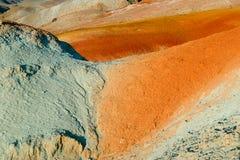 Χώμα χρώματος των καταθέσεων υδραργύρου Στοκ εικόνα με δικαίωμα ελεύθερης χρήσης