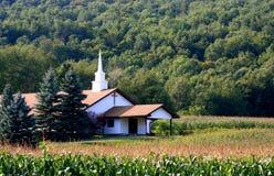 χώρα εκκλησιών Στοκ Εικόνα