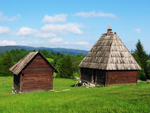 χώρα εξοχικών σπιτιών Στοκ Φωτογραφίες