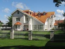 χώρα εξοχικών σπιτιών Στοκ εικόνες με δικαίωμα ελεύθερης χρήσης