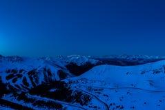 Χώρα σκι του Κολοράντο Στοκ Εικόνα