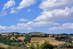 Χώρα της νότιας Ιταλίας ladscape Στοκ φωτογραφίες με δικαίωμα ελεύθερης χρήσης