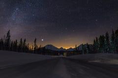 Χώρα των θαυμάτων βουνών καταρρακτών του Όρεγκον Στοκ φωτογραφίες με δικαίωμα ελεύθερης χρήσης
