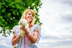 χώρα των θαυμάτων της Alice Στοκ Εικόνα