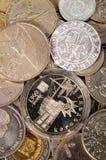 χώρες νομισμάτων διαφορε& συλλογή νομισμάτων Στοκ Εικόνα